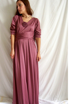 Romantic 70's ROSE Dress