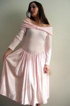 pink vintage vintage 80s dress