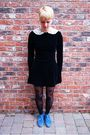 Vintage-laura-ashley-dress-house-of-holland-tights-topshop-boots