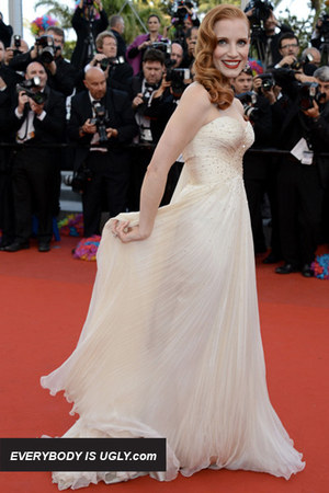 ivory Giorgio Armani dress
