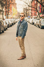 Topman-boots-levis-jacket-alternative-apparel-sweater-h-m-shirt-ray-ban-