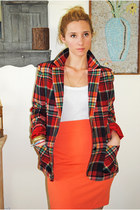 Red-vintage-wool-blazer