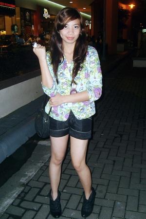parfait blazer - shorts - slyvia santos accessories - want boots