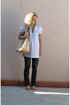 peace faith love alloycom dress - vintag calvin klein jeans - Bamboo shoes - Ets