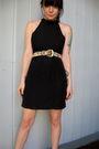 Black-peachy-days-vintage-dress