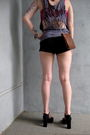 Bdg-shorts-vintage-accessories-urban-outfitters-bra-american-apparel-t-shi