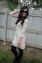 Max Edition dress - H&M tights - Macys wedges