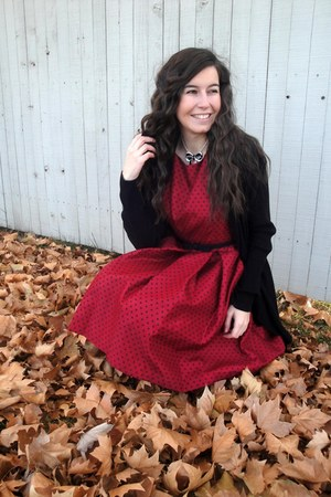 kohls cardigan - JCPenney dress