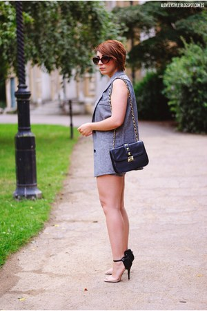 Chicwish suit - Dunnes bag - Anne Michelle heels - Chicwish top