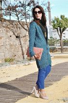 Dorothy Perkins bag - BLANCO pants - clockhouse cardigan - Dunnes heels