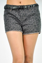 Dark spotted shorts