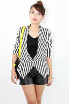 Tamia striped blazer