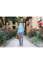 Chloe bag - Uterque sandals - acne pants - vintage top