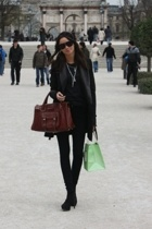 black Todd Lynn blazer - black Topshop shoes - brown Chlo bag