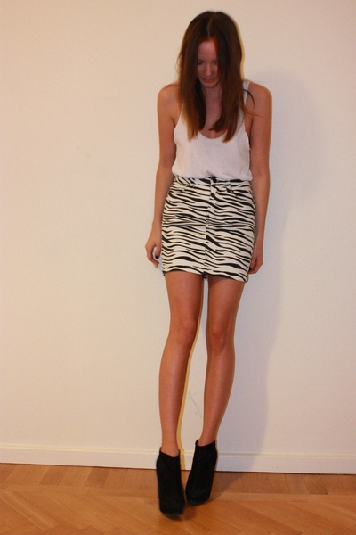 H&M top - Topshop shoes
