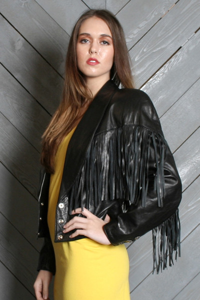 North Beach Leather jacket