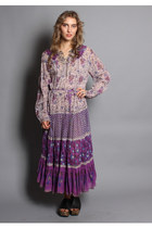 Vintage Indian Cotton Gauze Dress