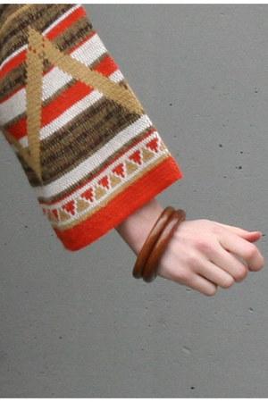 brown bangles vintage bracelet