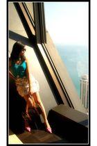 Ralph Lauren skirt - Epic Threads top - H&M necklace - Louis Vuitton purse - Esp
