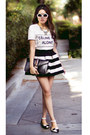 Striped-banggood-skirt