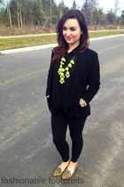 J Crew bracelet - Aldo shoes - Forever 21 blazer - TNA tights - TJ Maxx blouse