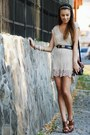 Topshop-dress-fendi-bag-escada-belt-motivi-sandals-pull-bear-bracelet