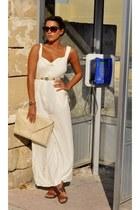 vintage watch - Milan bag - Top Shop sunglasses - Reiss belt - All Saints heels