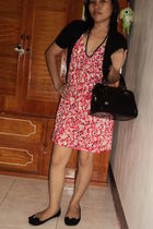 xhilaration dress - Vincci shoes - random from Hong Kong cardigan - Sundance pur