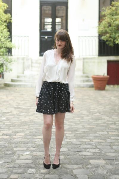 black new look skirt