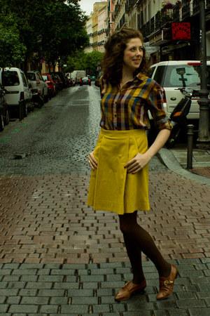 Topshop shoes - Scotch&Soda shirt - COS skirt