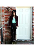 Tobi leggings - Urban Outfitters top - Forever 21 skirt