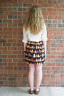 Black-handmade-by-me-skirt-white-vintage-blouse-brown-vintage-shoes-black-