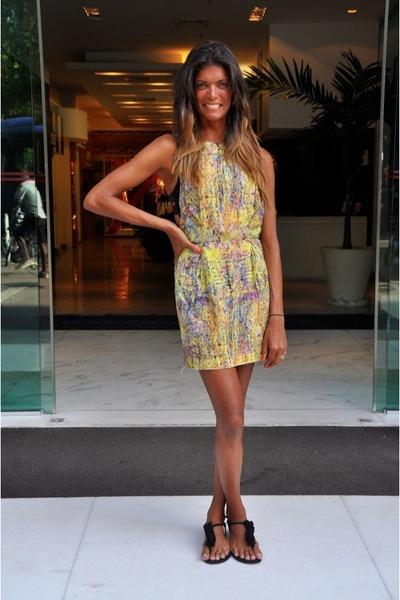 multi color dress - Dolce Vita sandals