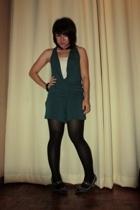 gifted suit - get laud top - SM Dept Store tights - SM Dept Store shoes - Bazaar