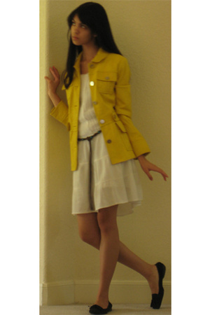 tory burch jacket - LA Conduct dress - Cole Haan shoes