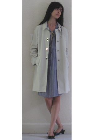 Charlotte Ronson dress - coach coat - BCBG shoes