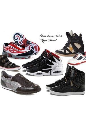 black hi-top Jump shoes - red maori print Tu Ake shoes