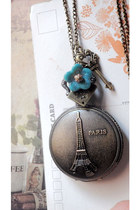 Pocket-watch-necklace