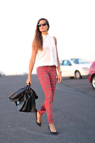 Zara jacket - rayban sunglasses - green coast panties - Mango heels