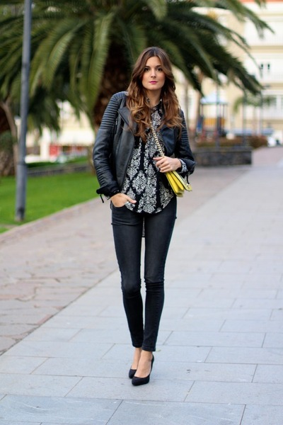 TFNC shirt - Zara jacket - PERSUNMALL bag