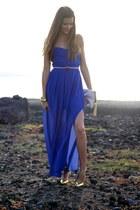 TFNC dress - H&M bag - Mango heels