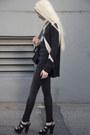 Black-helmut-lang-jeans-balenciaga-bag-beige-mason-blouse