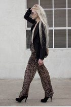 dark brown Stanton James pants - black Novio Novia blazer