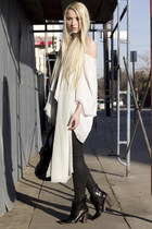 Helmut Lang jeans - Sigerson Morrison boots - Zara scarf