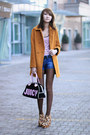 Leopard-zanotti-boots-bronze-zara-coat-black-velour-juicy-couture-bag