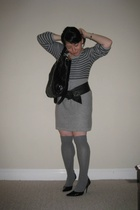 Juicy Couture dress - HUE socks - Ralph Lauren belt - Pietro Alessandro purse -