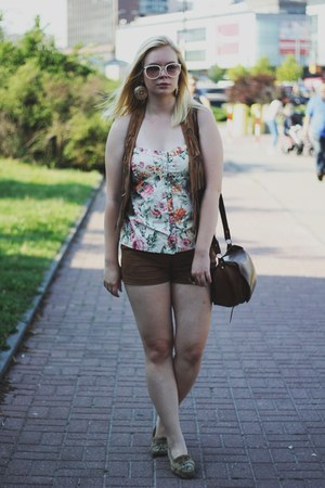 brown Promod shorts