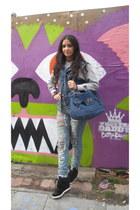 Zara jacket - Miu Miu bag - ASH sneakers