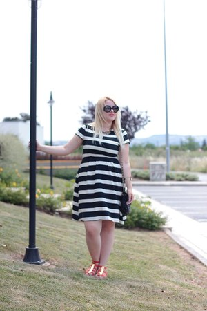 H&M dress - Miss Sixty sandals