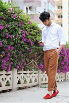 Zara shoes - Zara shirt - my design pants